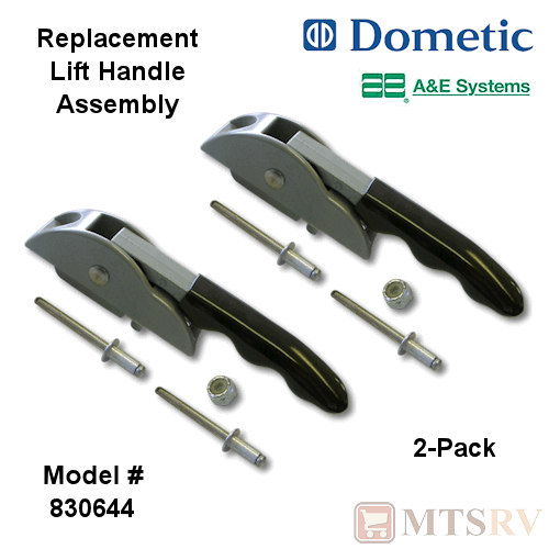 Dometic A&E Repl. Lift Handle Assembly - 2-PACK - 8500 ...