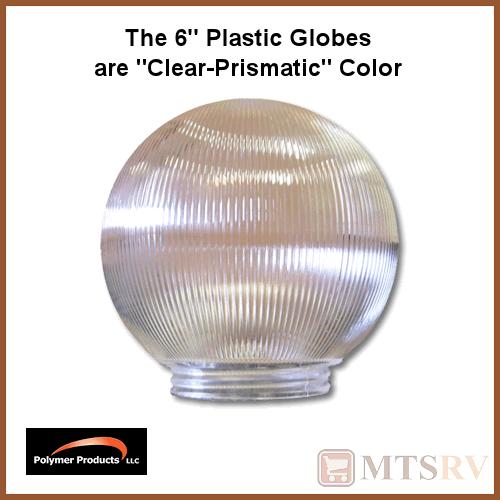 Polymer Awning RV Patio Globe String Lights - CLEAR PRISMATIC - 6 LIGHT SET eBay
