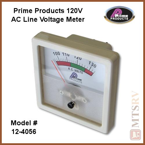 In Line Voltage Meter : Prime products a c line voltage meter model  ac