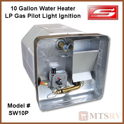 Lighting The Pilot On A Whirlpool Water Heater: SUBURBAN 10 Gallon Water Heater SW10P