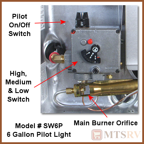 how to change pilot light on water heater