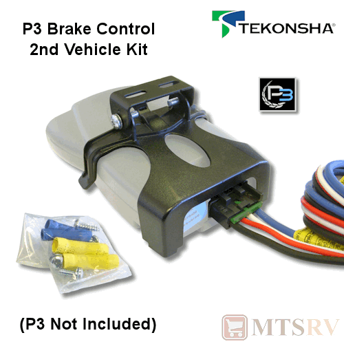 tekonsha p3 2nd vehicle kit pocket bracket wiring. Black Bedroom Furniture Sets. Home Design Ideas