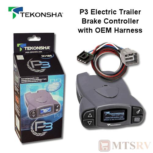 Tekonsha P3 Trailer Brake Controller Wiring Diagram Emprendedorlink